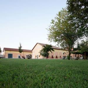 gallery del Vigneto per la produzione di lambrusco I.G:P: a podere francesco a novellara, provincia di Reggio Emilia