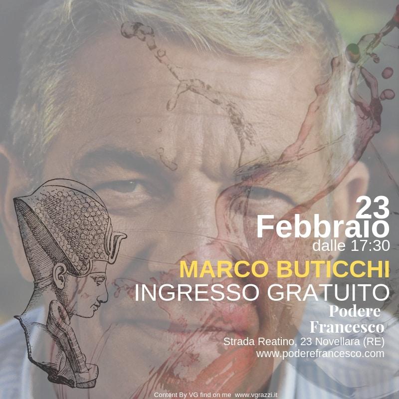 Marco Buticchi – 23 Febbraio ore 17.30