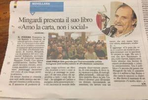 Andrea Mingardi a Podere Francesco