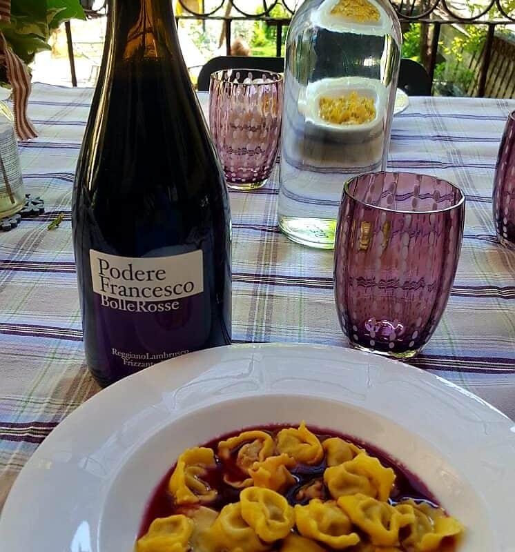 Lambrusco Reggiano Frizzante D.O.P. BolleRosse